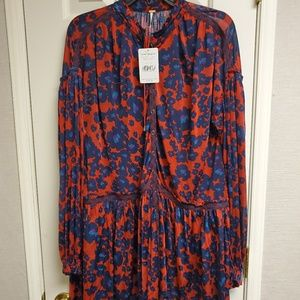 Free people Love letter tunic